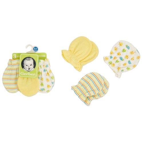 Gerber Unisex Baby Newborn Pack Mitten
