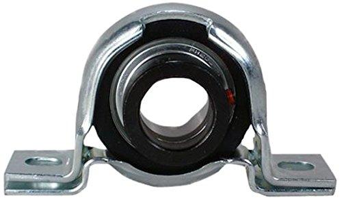 Peer Bearing FHPPZ202-10-IL Pillow Block Single Lip Seal Pressed Steel Housing 5//8 Bore 7//8 Shaft Height Narrow Inner Ring 2-5//8 Bolt Center Interlocking Eccentric Locking Collar