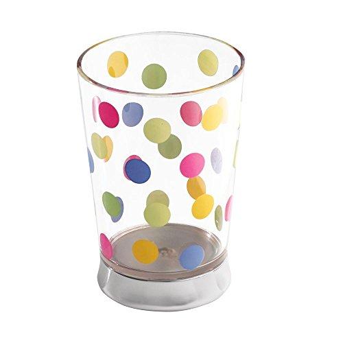InterDesign Glee Bath, Tumbler Cup for Bathroom Vanity Countertops - Clear by InterDesign