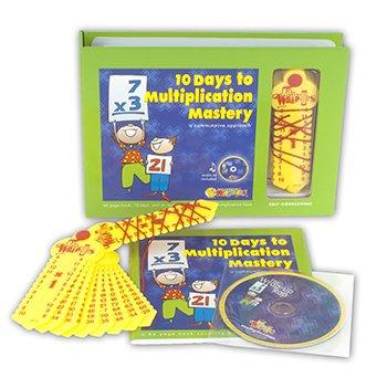 Learning Wrap-ups, 10 Days to Multplication Mastery Boxed Set