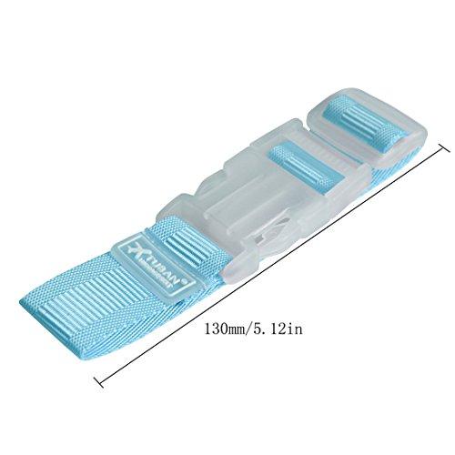 Las Un Azul bolsa Tres Andux Cinturón a Gkd Correas Equipaje Zone Viaje De Add Maleta Conjunto 01 SwwPqf5x