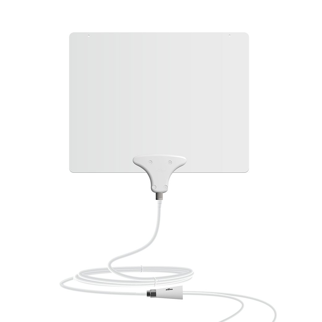 Mohu Leaf 50 TV Antenna Amplified 60 Mile Range MH-110584