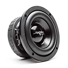 """The Skar Audio EVL-65 D4 subwoofer was designed to be the most responsive, powerful, and efficient 6.5-inch subwoofers on the market. Don't be fooled by the size, the EVL-65 is one monster of a subwoofer, featuring a 2"""" pure copper voice coil..."""