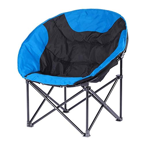 - Zichen Outdoor Folding Outdoor Chair, Hammock Style Iron Stool, Camping Picnic Storage Room | Fishing | Barbecue, 50 \u0026 Times; 50 \u0026 Times; 80 cm (Color : Blu)