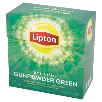 Lipton Green Tea - Green Gunpowder - Premium Pyramid Tea Bags (20 Count Box) [PACK OF 3]
