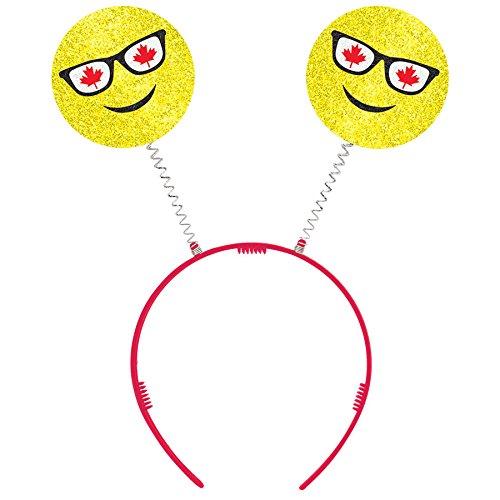 Canada Day Emoji Headbopper