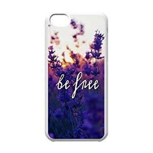 Be Free Unique Fashion Printing Phone Case for Iphone 5C,personalized cover case ygtg580868