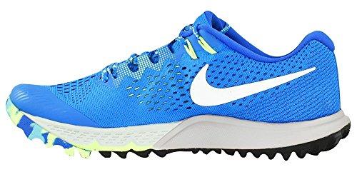 Nike Herren Zoom Terra Kiger 4 Trail Laufschuhe Foto Blau / Weiß / Geistergrün