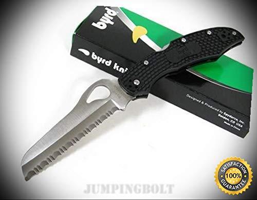 Byrd Black Cara Cara 2 Rescue Knife BY17Sbk2 - Premium Quality Very Sharp EMT EDC