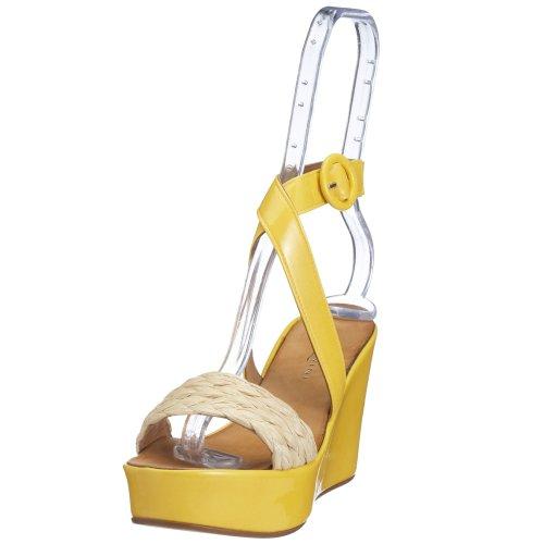 Nannini Women's Fashion Sandals White Yellow YNLrU