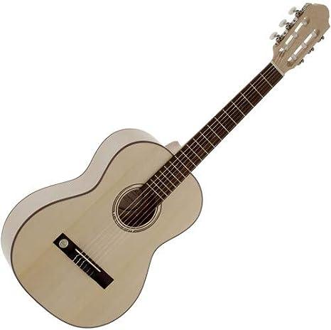 VGS Pro Natura Silver Series 3/4 | Niños Guitarra | nuevo: Amazon ...