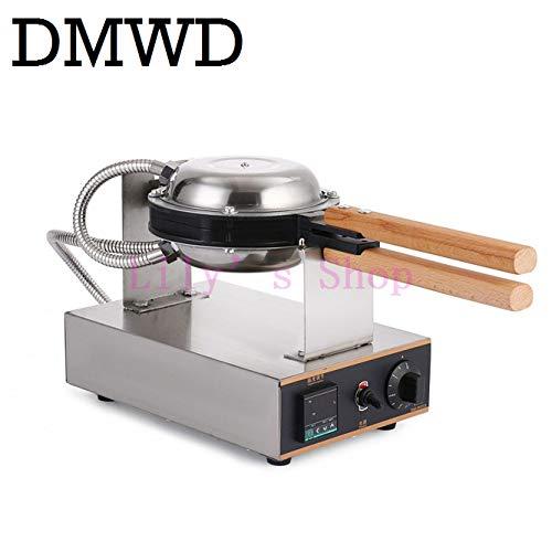 Aberdeen Kitchen - Digital Display Commercial Hong Kong Electric Egg Waffle Maker Kitchen QQ Eggs Aberdeen Omelet Machine Oven EU US Plug (110V)