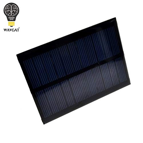 Solar Panel 0.5W 5V Portable Module DIY Small Solar Panel for Cellular Phone Charger Home Light Toy etc Solar Cell by Wolfrule (Image #2)
