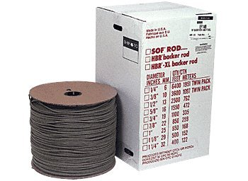 1/4'' Closed Cell Backer Rod - 6400 ft Bulk Box by C.R. Laurence