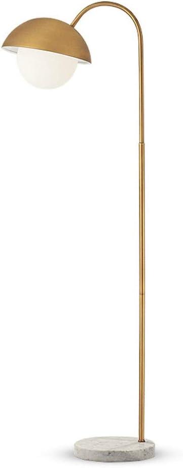 Lámparas de pie Sencilla lámpara de Piso Moderna Sala de Estar Dormitorio lámpara de cabecera de la lámpara de pie Estudio Creativo mármol Pesca luz de la lámpara de Piso lámparas de