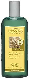 Logona Color Care Shampoo de Manzanilla, Rubia 250 ml