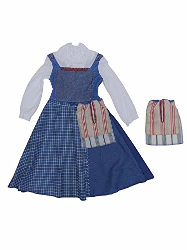 Belle Village Dress Classic Girls Costume (Village Girl Costume)