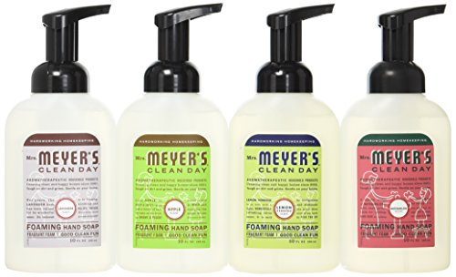 Price comparison product image Mrs. Meyers Clean Day 4-Piece Foaming Hand Soap Variety Pack (10 oz Each)