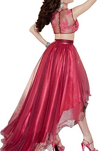Missdressy -  Vestito  - linea ad a - Donna rosso 44