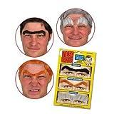Accoutrements Mega Brows - Fake Eyebrows - Costume Facial Hair