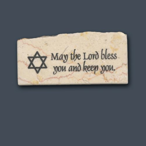 May the Lord bless you and keep you/Star of David – Promise Stone Review