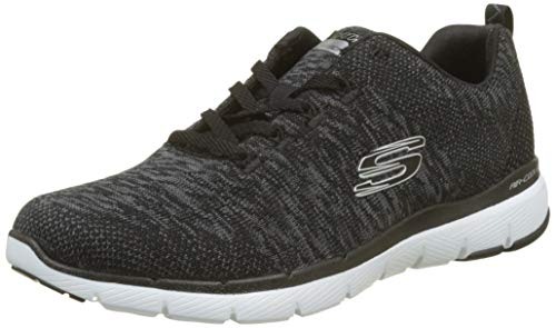 Black Bkw Flex Shoes Black Fitness Appeal 2 Skechers White 0 Women's 064xwqS
