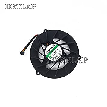 DBTLAP Laptop CPU Fan Compatible for Packard Bell Easynote LJ65 LJ71 LJ75 LJ65 LJ61 AD5505HX-EB3 KAKC03 ADDA CPU Fan