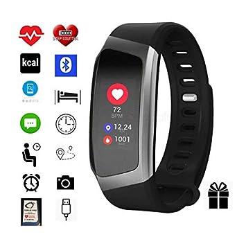 Monitor de actividad por Torus Pro Reloj inteligente, fitness, pérdida de peso, ajuste y permanencia ajustado, monitor de frecuencia cardíaca,: Amazon.es: ...