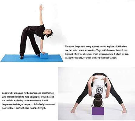 Yoga bloque ladrillo espuma de espuma Inicio ejercicio práctica fitness deporte herramienta