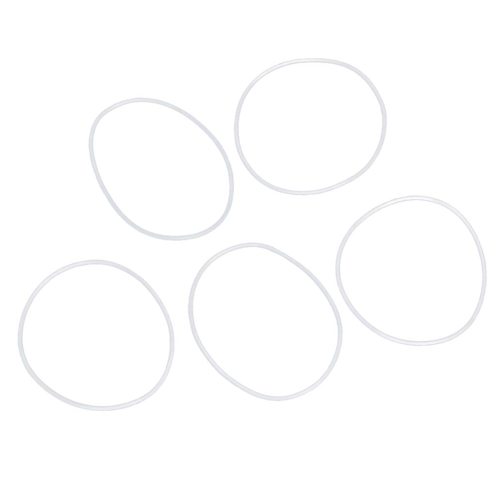 B Blesiya 5 Pieces Car Air Conditioning Ring Rubber HNBR O Rings Car Repair 30x1mm