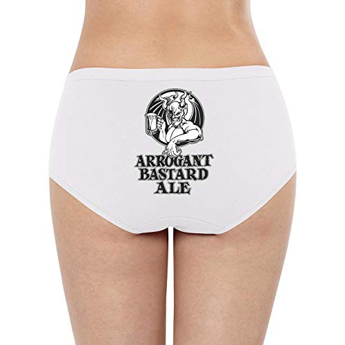 YJRTISF Popular Music Women Breathable Arrogant-Bastard-Ale-from-Stone-Brewing-Co.-Beer- Cotton Lingerie Panties