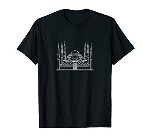- Sultan Ahmed Mosque Istanbul Turkey Souvenir T-Shirt Tee