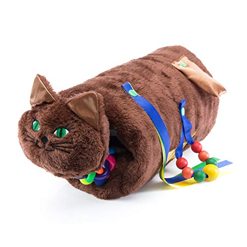 Twiddle Chocolate Brown Cat Sensory Toys for Autistic Children, Dementia, and Alzheimers Patients | Fidget Toys for Therapy and Anxiety Relief