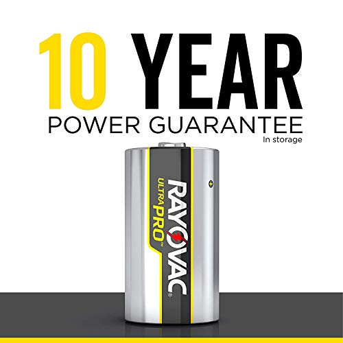 Rayovac D Batteries, Ultra Pro Alkaline D Cell Batteries (28 Battery Count) + Free Gift - Productivity Planner - Attain Your Dreams! (28 Count) by Rayovac (Image #8)