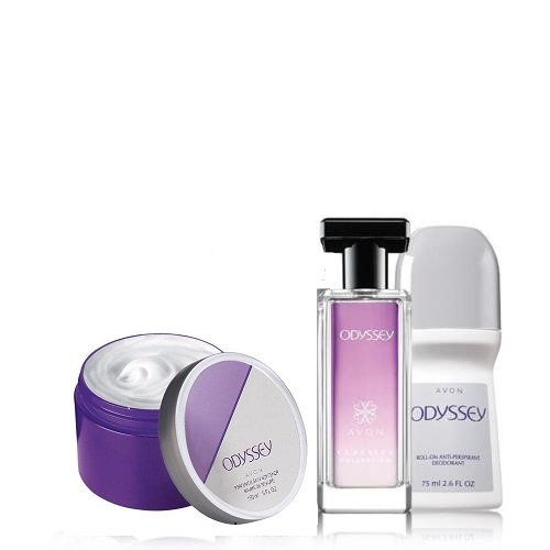 Avon Odyssey 3-Piece Fragrance Layering Collection