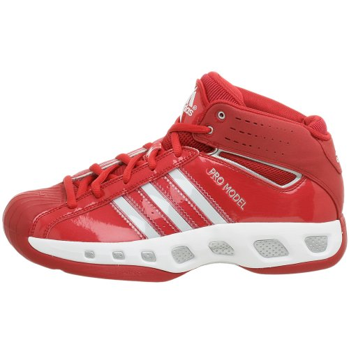adidas Men's Pro Model Team Color Basketball Shoe,Red/Red,9.5 M by adidas (Image #5)
