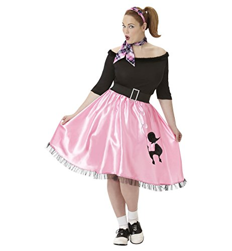 Costumes USA Sock Hop Sweetie Costume - Plus Size - Dress Size (Sock Hop Sweetie Costumes)