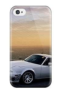 High Quality LatonyaSBlack Mazda Miata 22 Skin Case Cover Specially Designed For Iphone - 4/4s