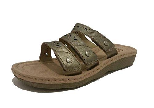 Sandalo Di Terra Donna Spirito Rubi (9) Bronzo Metallizzato
