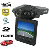 Rando HD CAR DVR 1280 x 720P Camcorder Video Camera Night Vision 2.5-Inch LCD with HDMI Cable