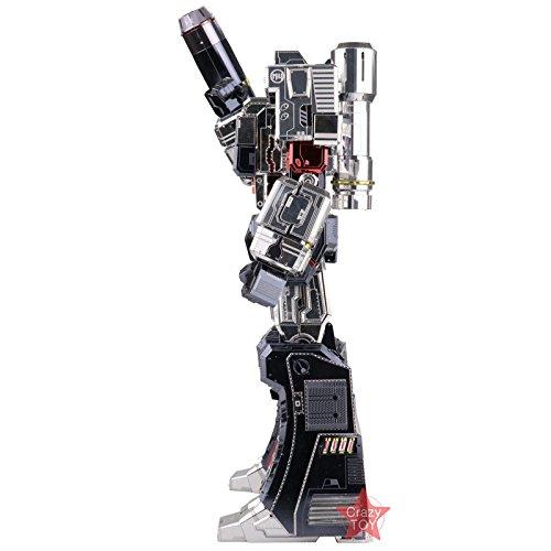 2018 MU 3D Metal Puzzle Transformers Megatron Model YM-L055-C DIY 3D Laser Cut Assemble Jigsaw Toys For Audit