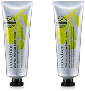 Innisfree Olive Real Moisture Hand Cream 1.69 Oz/50Ml x 2