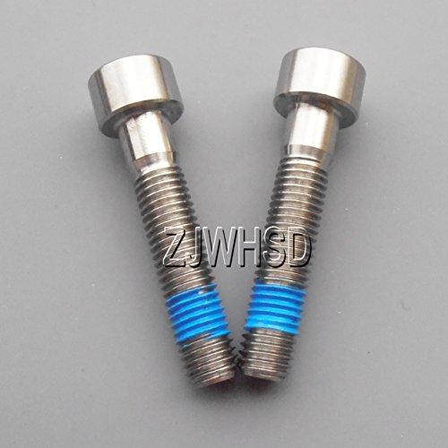 2個入 M7 x 35 mm チタン合金 TI 円柱 六角穴付 ボルト ネジ ねじ +靑い ねじゆるみ止め剤 高強度・非磁性・超