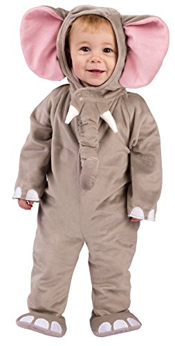 Baby Cuddly Elephant Costumes (UHC Baby's Cuddly Elephant Outfit Fancy Dress Infant Child Halloween Costume, 6-12M)