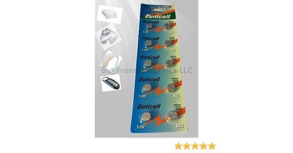 Amazon.com: TianQiu AG3/392A/CX41/LR41W 1.55V Alkaline Cell Button Batteries (10 PCS): Cell Phones & Accessories