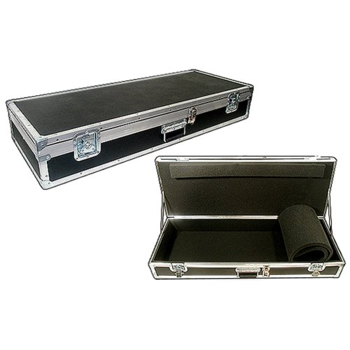 Keyboard ATA 'Generic Size' Flight Case for 76 Note - Inside Dims 53'' x 16 1/2'' x 6'' High - Will Your Board Fit? by Roadie Products, Inc.