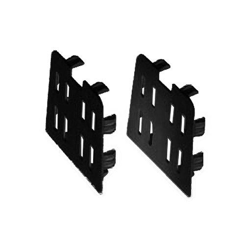 因幡電工 プラロック端末カバー 2枚入 PRC-351N アイボリー
