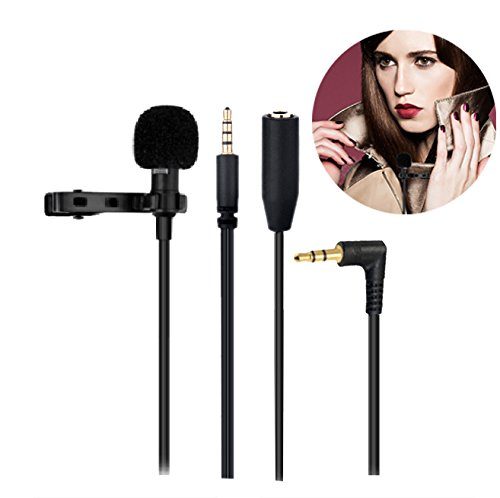 Cheap Studio Recording Equipment KAMLE Professional Design Lavalier Microphone with Connect Headset & Omnidirectional Mic for..