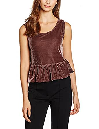 SISTER JANE Crop Tops For Women M, Purple (TOG042PUR-PPL)