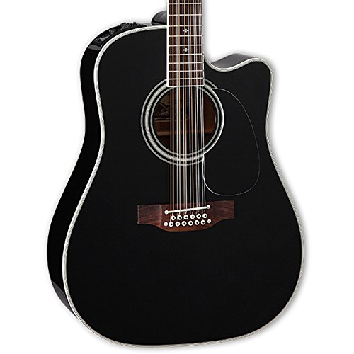 Takamine EF381SC 12-String Dreadnought Acoustic-Electric Gui